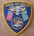 TOWN OF DOVER NEW YORK CONSTABLE PATCH UNUSED