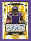 PERCY HARVIN 2009 BOWMAN STERLING RC ROOKIE GOLD AUTOGRAPH JERSEY AUTO # 7 10