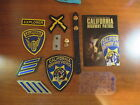 CALIFORNIA HIGHWAY PATROL LOT SHOULDER PATCH, YOS PATCH, CIVILIAN PATCH, AN MORE
