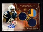 2013 TOPPS KEENAN ALLEN CHARGERS ROOKIE AUTO JERSEY CARD SERIAL #ed 86 99