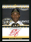 BARRY SANDERS LEAF ARMY 2012 AUTO STANFORD CARDINAL SIGNED ON CARD RED INK 16 25
