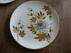 19TH CENTURY GOLD ENCRUSTED MINTONS HAND PAINTED PASSION FLOWER PLATE! NR