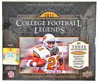 2011 UPPER DECK COLLEGE FOOTBALL LEGENDS HOBBY BOX KAEPERNICK NEWTON RC YEAR!