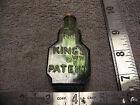 Mini Dark Green Bitters Bottle Wheaton The Kings Patent Balsam of Life W71