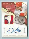 OSCAR TAVERAS 2014 PANINI IMMACULATE 5 COLOR PATCH RC AUTOGRAPH AUTO 99