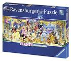 RAVENSBURGER DISNEY PANORAMA JIGSAW PUZZLE GROUP PHOTO 1000 PCS ALL CHARACTERS
