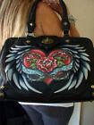 ISABELLA FIORE RARE LIVE TO LOVE KELSEY FRAME LARGE SATCHEL BAG~TRAVEL