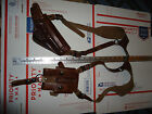Beretta 92F Leather Shoulder Holster Dual Mag Pouch Alessi Holsters Buffalo NY