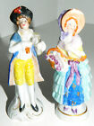 Vtg  Pair GERMANY Man & Woman FIGURINES Porcelain
