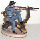 CIVIL WAR CONFEDERATE SHARPSHOOTER FIRING 90MM RESIN