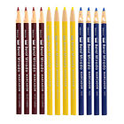 Berol Mirado Peel Off China Marker Grease Glass Stone Pencil Assorted Pack of 12