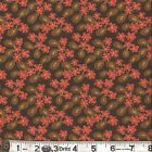 Moda PHENOMENAL FALL Lacey Floral Walnut Fabric by the 1/2 yard by Sandy Gervais