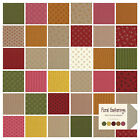Floral Gatherings Primitive Quilt Fabric 40 strips Jelly Roll  2.5