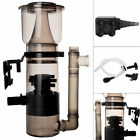 Aquarium Protein Skimmer 150 Gal w/ 530GPH Pump Filter Powerhead Tank Salt Water