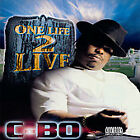 One Life 2 Live [PA] by C-BO (CD, 2001, Awol)(Rap)(Gangsta) Excellent! Fast Ship