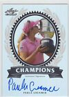 2012 Leaf Metal Golf PAULA CREAMER Autograph SP 38 50