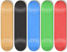 5 BLANK Skateboard STAINED COLOR DECKS 8.25