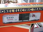 1995 Lionel 6-19938 Christmas Box Car Happy Holidays New L0836