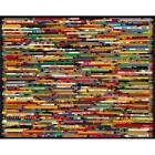 White Mountain Puzzles Pencil Collage - 1000 Piece Jigsaw Puzzle New