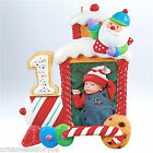 Hallmark 2011 My First Christmas Child age Photo Frame