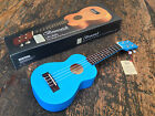 Brunswick Quality Matt Blue Soprano Ukulele Fitted With Aquila Strings 4999
