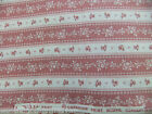 Joan Kessler for Concord Fabrics Country Floral Stripe Made in the U.SA.Sold BTY