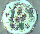 Vintage Floral Design 1960s Wall  Plate ARDCO Dallas Fine Quality China Japan