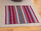 Vintage Bolivian Woven Colorful Cloth, rug, or wall hanging, tapestry