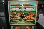 BALLY BOW AND ARROW EM  PINBALL MACHINE PLAYS GREAT