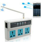 Wireless Mobile Phone PDA GSM  Remote Control 3 Socket Power Outlet Smart Switch
