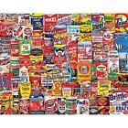 White Mountain Puzzles Wacky Packages - 1000 Piece Jigsaw Puzzle New