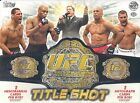 2011 TOPPS UFC TITLE SHOT HOBBY BOX NEW FACTORY SEALED