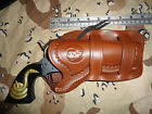 Ruger Vaquero  Ruger Single Six 4 5 8 Double Loop Leather Holster Tooled Bord