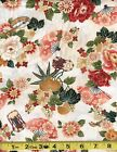 GION   4256  23155 CRE1    100 % COTTON RED ROOSTER FABRICS  3/4 yd