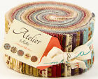 Atelier 3 Sisters Floral Moda  Quilt Fabric Jelly Roll 2.5