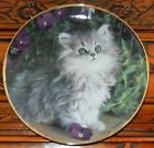Purrfection CAT KITTEN Collector Plate Nancy Matthews Limited Edition