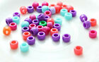 50pc colorful ball beads Charms Loom Rubber Bands Bracelets Refill Kit DIY W141