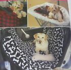 New Sewing Pattern Travel Accessories For Dogs Car Seat-Car & Shop Cart Cover