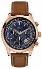 Guess Pursuit Mens Chronograph Date World Time Blue Dial Fashion Watch W0500G1