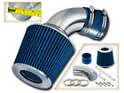 91 97 Geo Metro 10 L3 13 L4 SHORT RAM AIR INTAKE KIT + BLUE FILTER