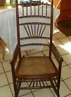 Ball Rocker / Rocking Chair with Cane Seat  (R128)