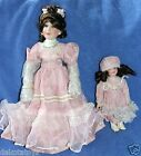 JUST LIKE MOMMY HERITAGE SIGNATURE COLLECTION PORCELAIN DOLLS NEW