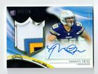 2013 Topps Platinum MANTI TE'O rookie auto 4 color jersey patch #068 125