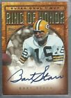 2002 Topps - BART STARR - Ring of Honor - Super Bowl MVP Autograph - PACKERS