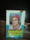 1972 Topps Posters Empty Display Box with Joe Torre and a Wrapper