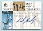 CARMELO ANTHONY 2003 04 SP SIGNATURE ROOKIE INKORPORATED RC AUTOGRAPH AUTO 100