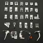 32 Pcs Domestic Sewing Machine Presser Feet  Foot Part For Janome Brother Singer