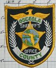 FLORIDA, OSCEOLA COUNTY SHERIFF'S OFFICE USED PATCH