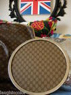 Utra RARE Vintage GUCCI Table Service Piece Cocktail Party Tray Plate GG Mono