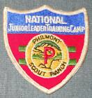 Philmont Scout Ranch Cimarron N.M. National Junior Leader Training Camp Patch